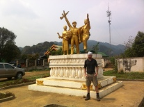 Vieng Xai war memorial