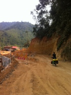 Road works for 150 km!