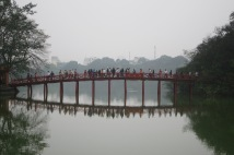 Red Bridge - Hoan Kiem Lake, Hanoi