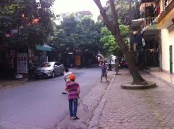 Street life in Hoa Bihn