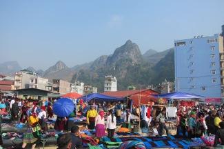 Dong Van market