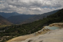 A little break from cycling to visit the Baishuitai sinter terraces