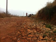 Our failed attempt to do a side trip to Shaxi….the road was terrible and this was first time we decided to turn around