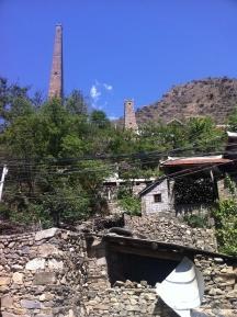 Watchtowers close to Danba