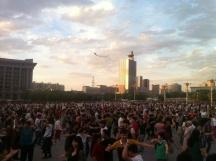 Friday night dancing, Urumqi